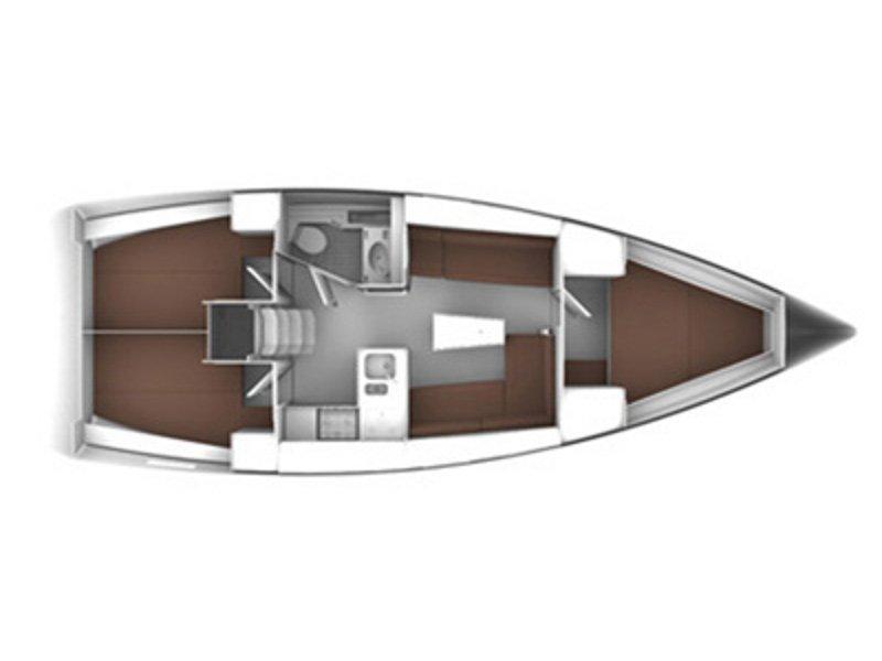 Bavaria Cruiser 37 (Florentia) Plan image - 1