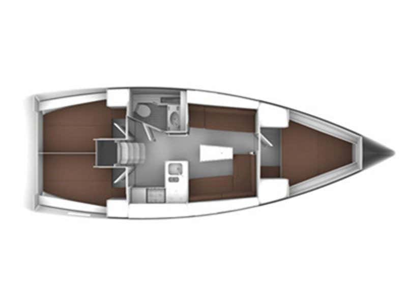 Bavaria Cruiser 37 (Florentia) Plan image - 5