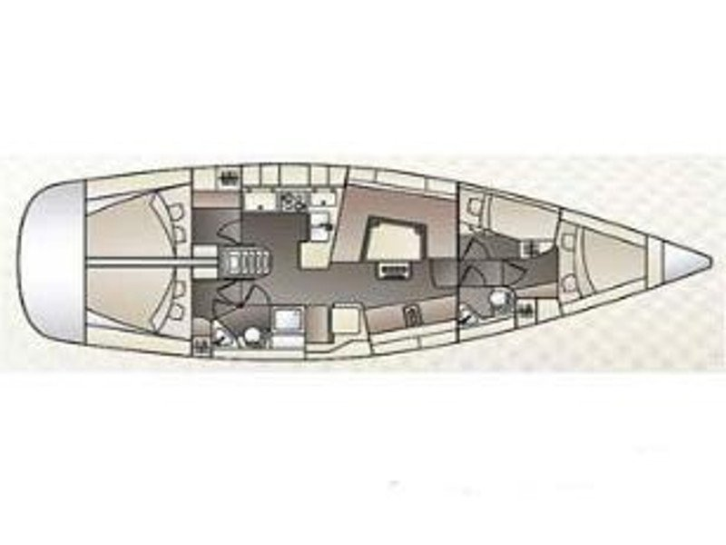 Elan 444 Impression (Reina) Plan image - 1