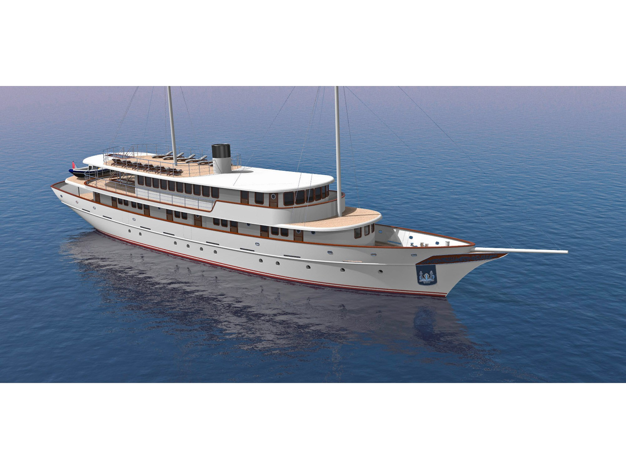 Small cruise ship Mila Majka (BELLEZZA) Interior image - 1