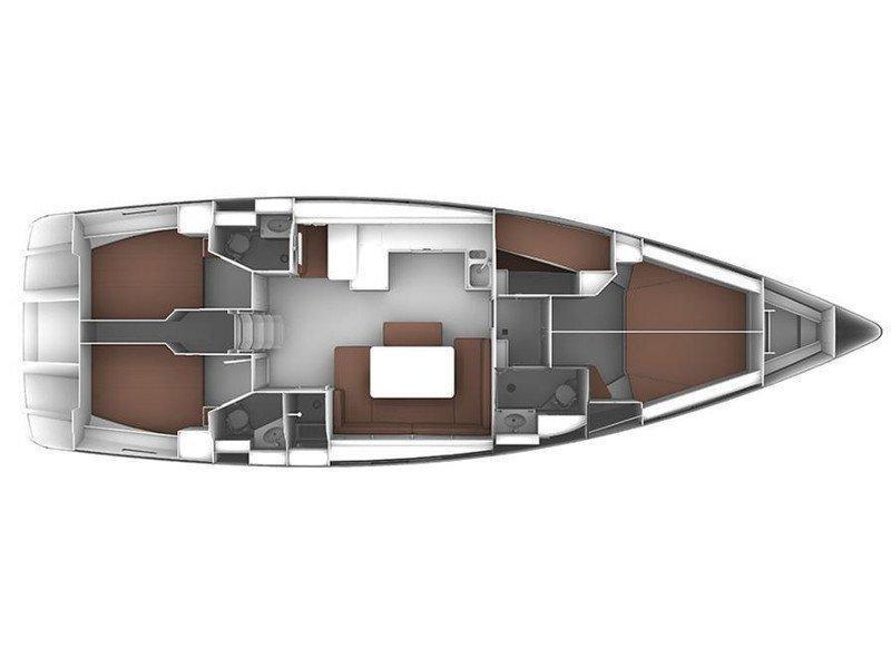 Bavaria Cruiser  51  (Skyfall) Plan image - 10