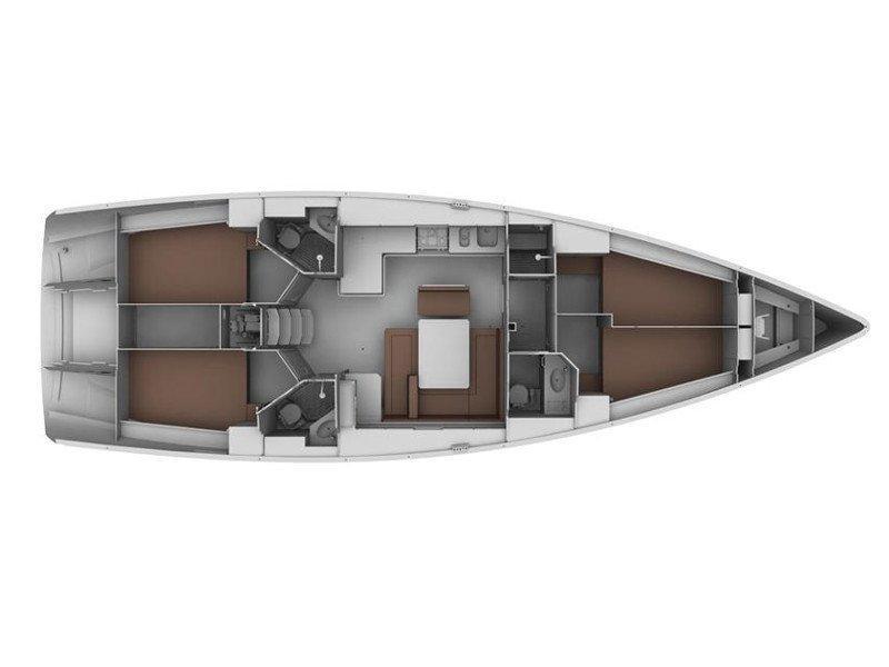 Bavaria Cruiser 45 (Chiara F.) Plan image - 4