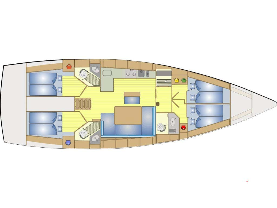 Bavaria 46 Cruiser (Baarìa) Interior image - 1