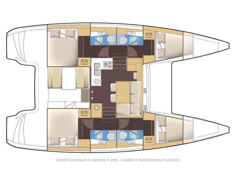 Lagoon 39 (VENTUS Generator) Plan image - 29