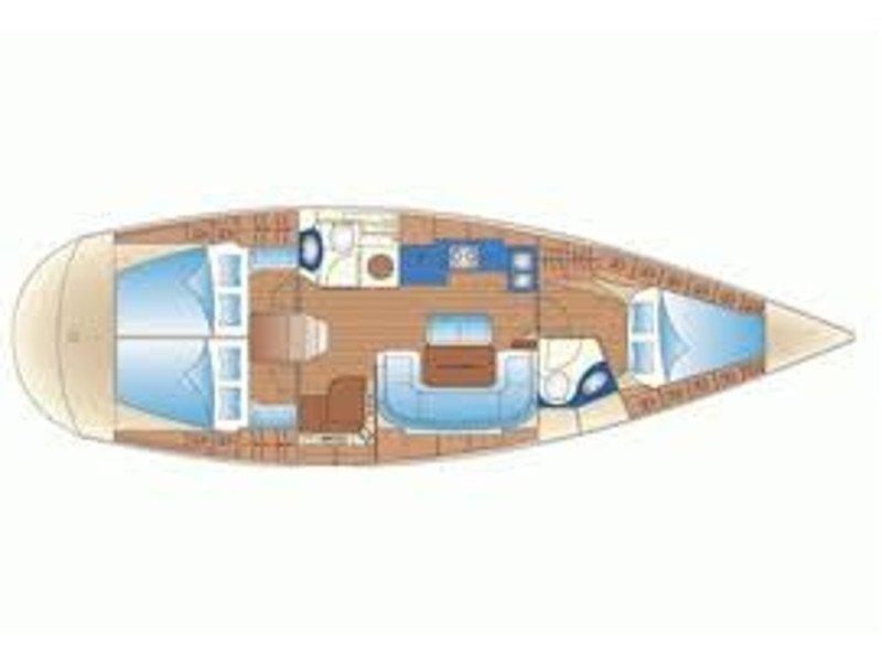 Bavaria 42 Cruiser (Galini) Plan image - 6