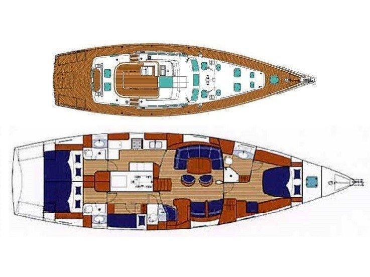 Beneteau 57 (SHAREDREAMS) Plan image - 8