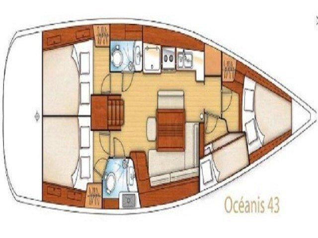 Oceanis 43 (Josefina) Interior image - 16