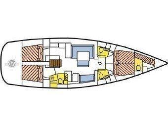 Oceanis 54 (Selene) Plan image - 13