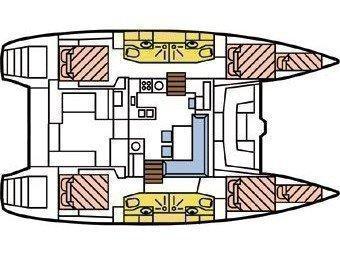 Lagoon 450 (Angela) Plan image - 2