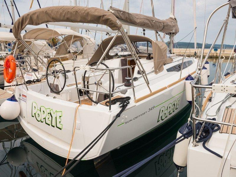 Sun Odyssey 349 (Popeye)  - 26