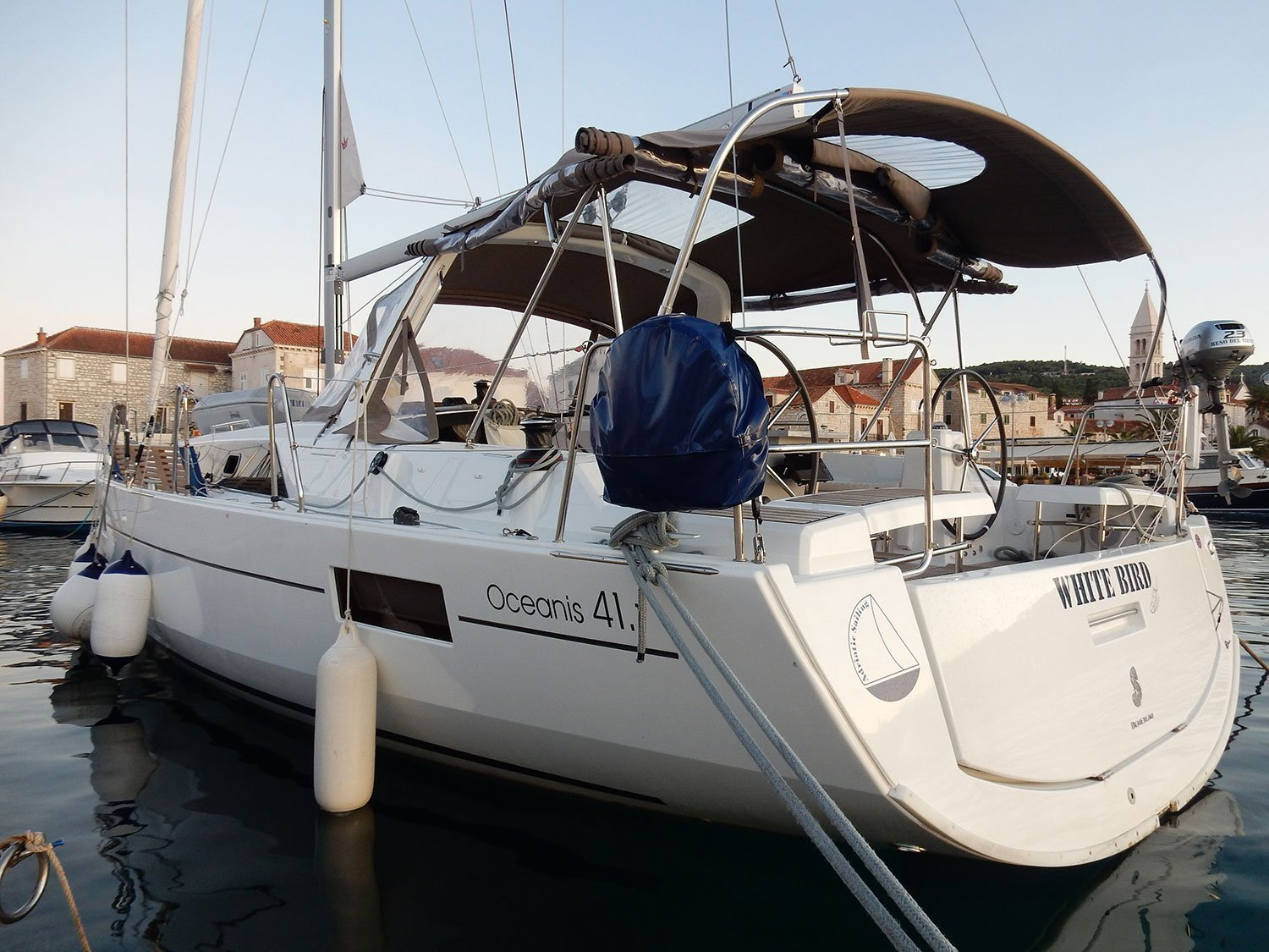 Oceanis 41.1 (WHITE BIRD)  - 8
