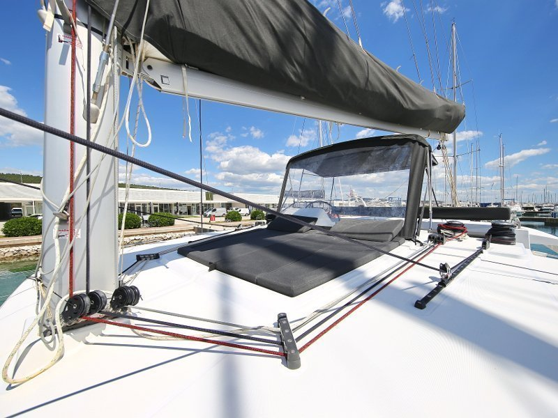 Lagoon 450 F (PRETTY ALICE AC all + generator + OB 20HP)  - 56
