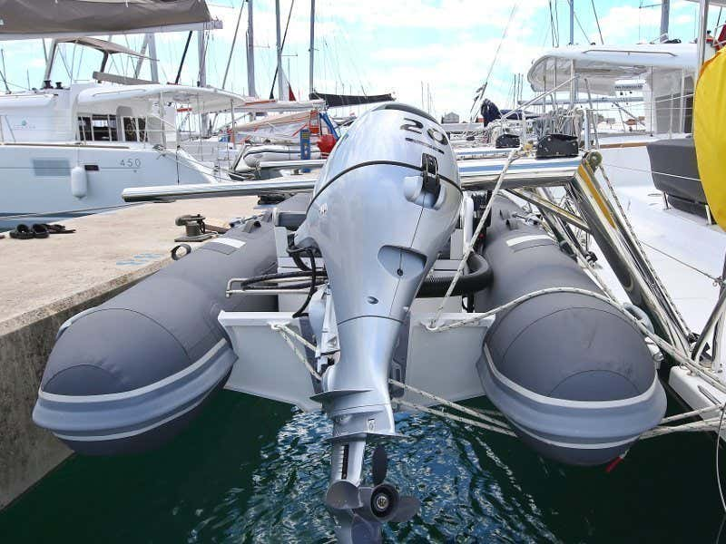 Lagoon 450 F (PRETTY ALICE AC all + generator + OB 20HP)  - 51