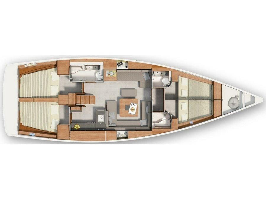 Hanse 455 (Vitae) Plan image - 5