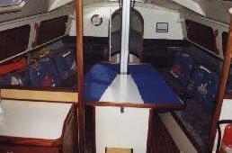 Dehler 38 (Dehler 38) Interior image - 1