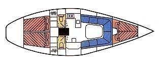 Dehler 38 (Dehler 38) Plan image - 2