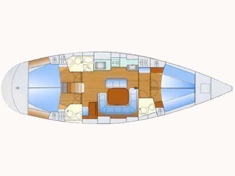 Bavaria 47 (Wave -  Bavaria 47 Cruiser) Plan image - 6