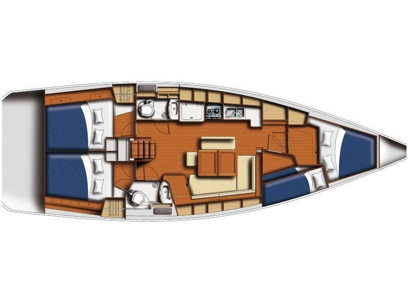 Oceanis 43 (Josefina) Plan image - 12