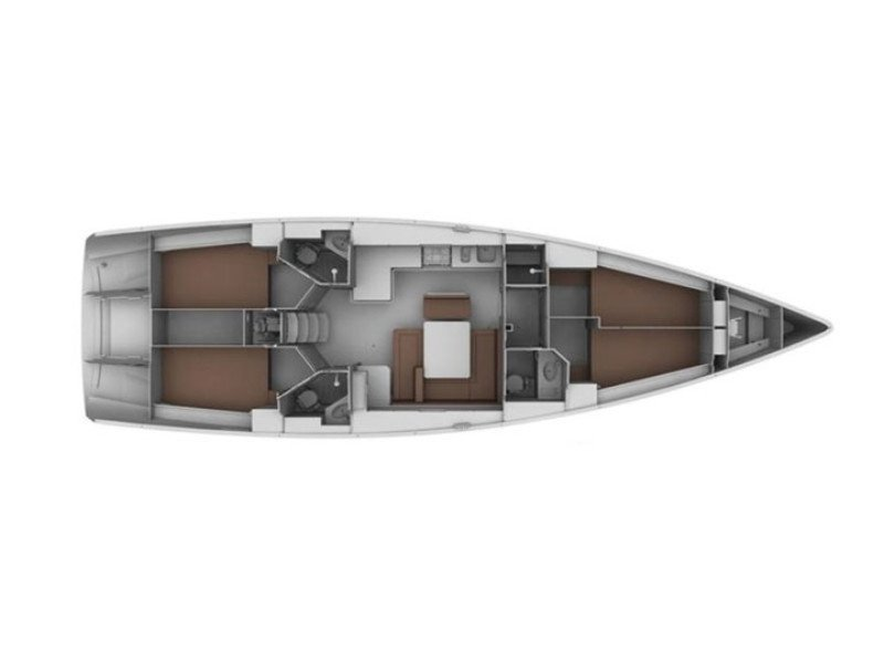 Bavaria 45 Cruiser (Libra I) Plan image - 6