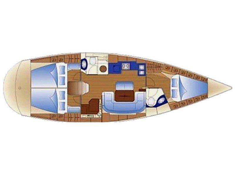 Bavaria 42 Cruiser (Shiraz) Plan image - 5