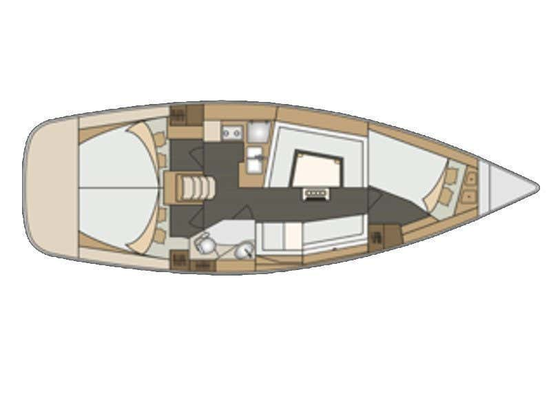 Elan 40 Impression (Charlie) Plan image - 3