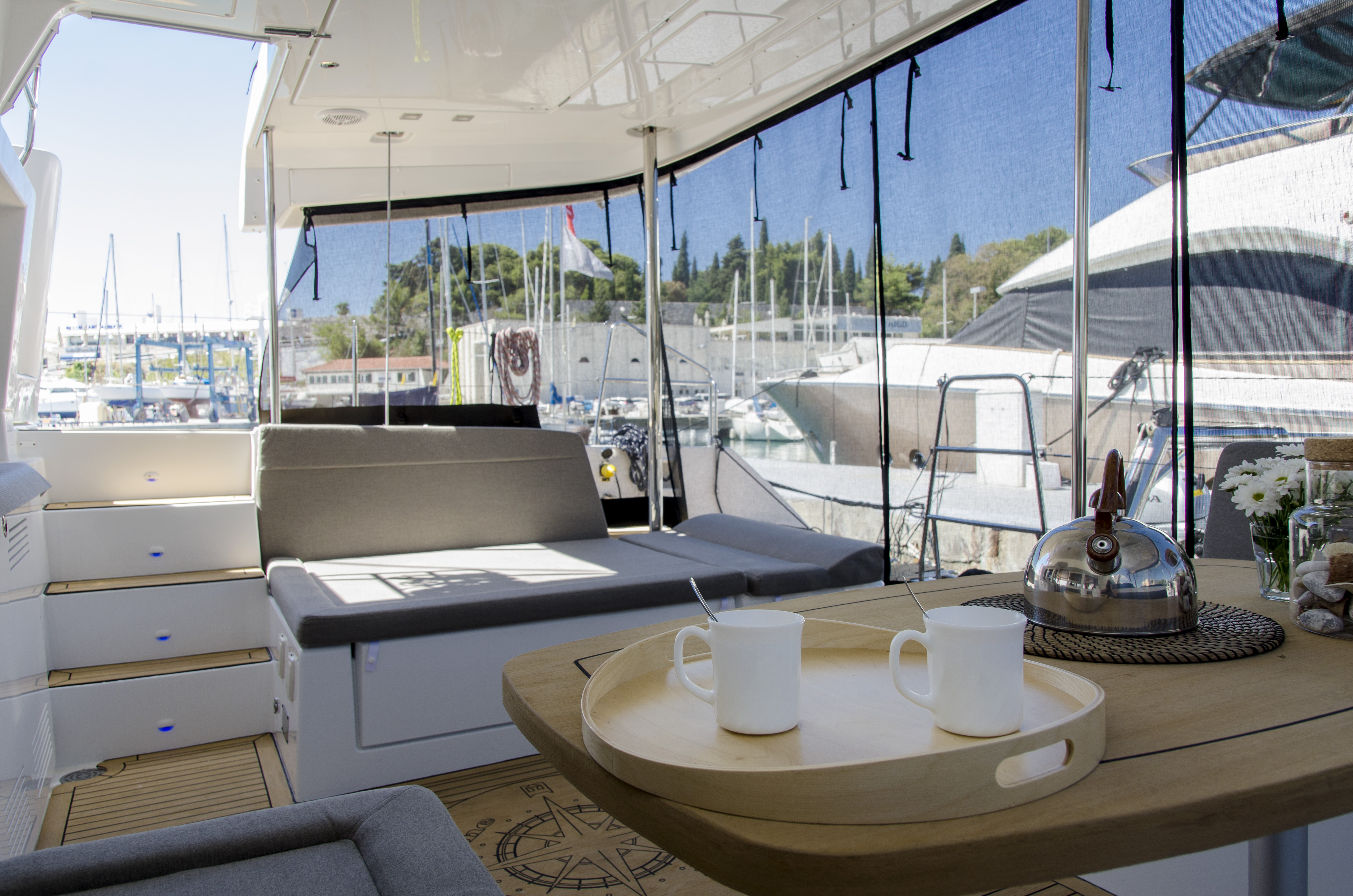 Lagoon 450 F (2016)equipped with generator, A/C (s (PRINCESS IVA)  - 20
