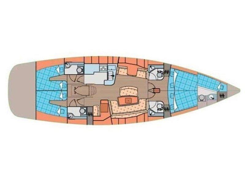 Elan Impression 514 (Cesarica III) Plan image - 5