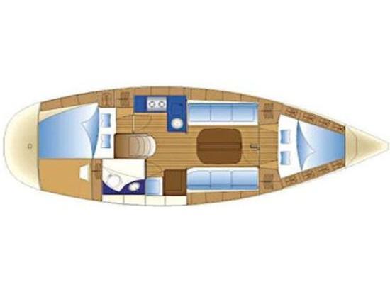 Bavaria 32 Cruiser (S/Y Athina) Plan image - 2
