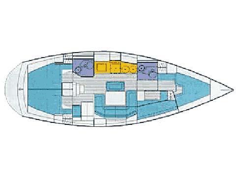 Bavaria 41H (Captain Teo) Plan image - 1