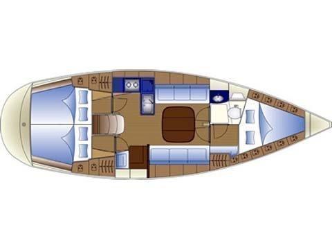 """Bavaria 36 """"Deep Keel"""" sp (Bavari 36 """"Deep Keel"""") Plan image - 2"""