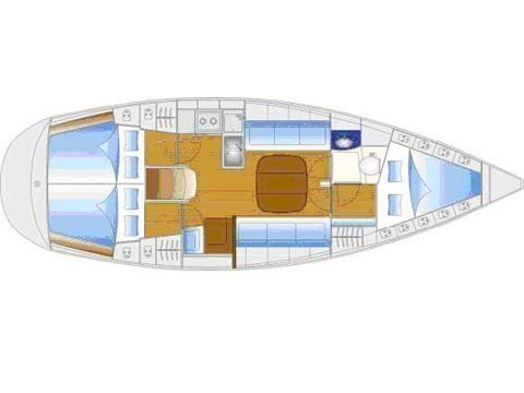 Bavaria 34 - Sails 2017 chartplotter in cockipt (Sunrise II) Plan image - 5
