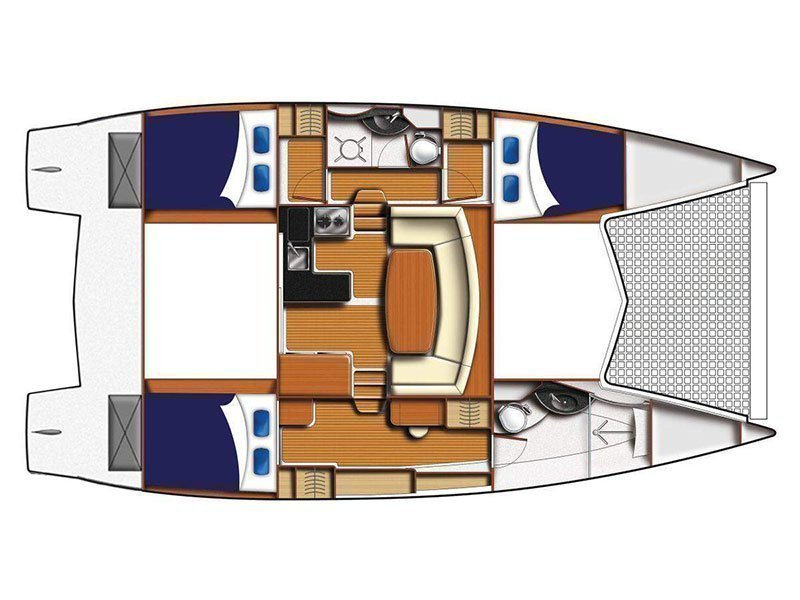 Moorings 3900 () Plan image - 3