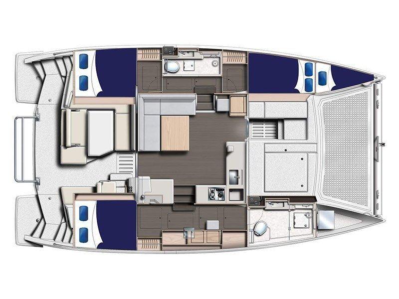 Moorings 4000/3 () Plan image - 4