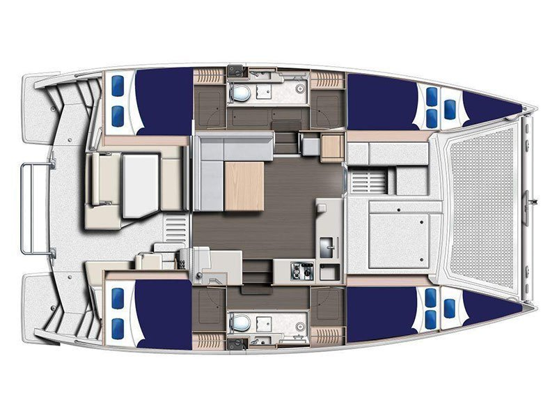 Moorings 4000 () Plan image - 1