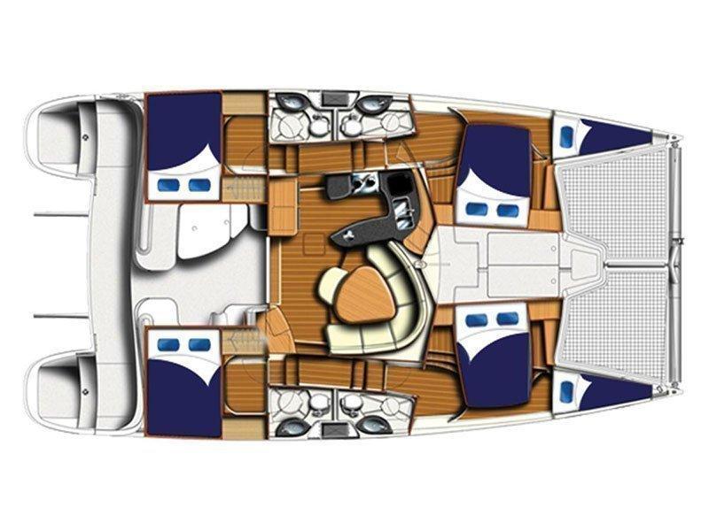 Leopard 50 () Plan image - 2