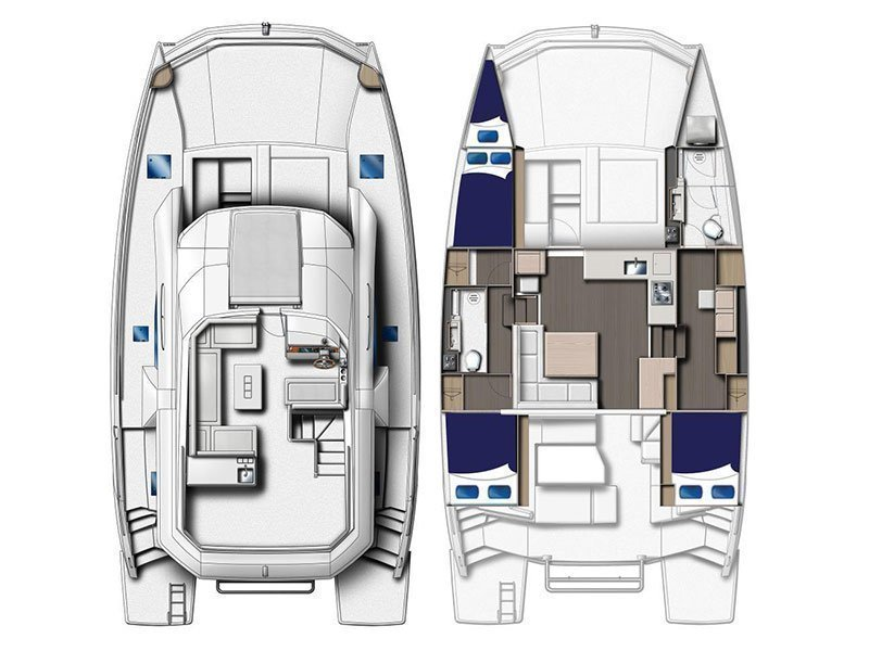 Moorings 433 PC () Plan image - 2