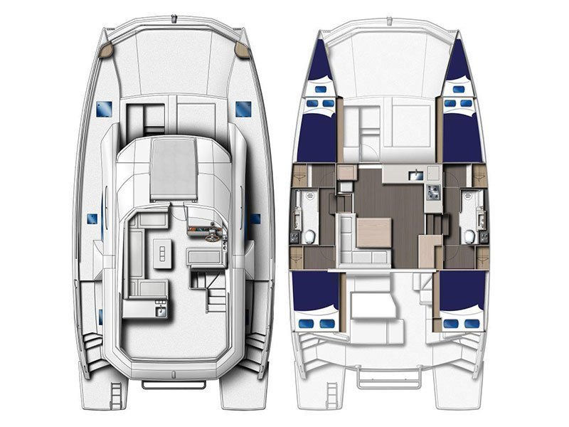 Moorings 433 PC () Plan image - 1