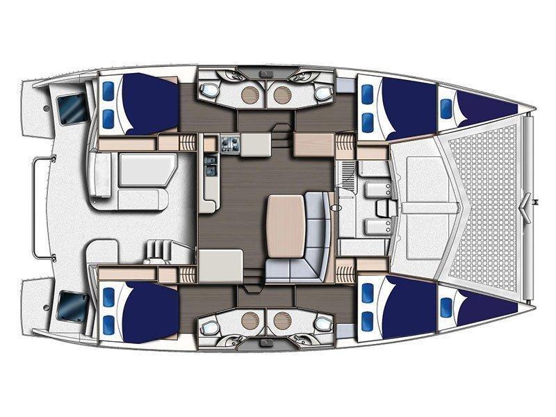 Leopard 44 () Plan image - 9