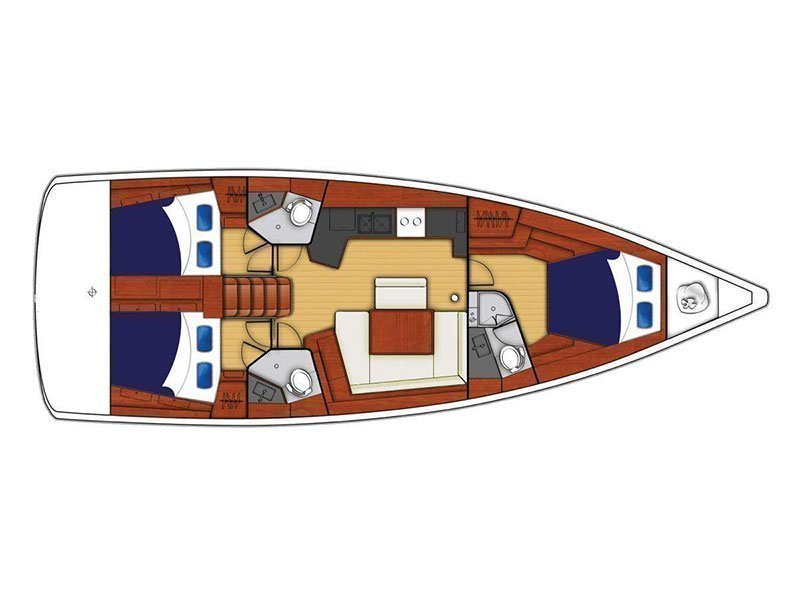 Moorings 453 () Plan image - 1