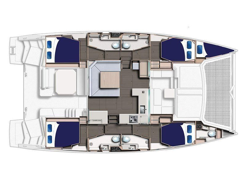 Moorings 4500 () Plan image - 1