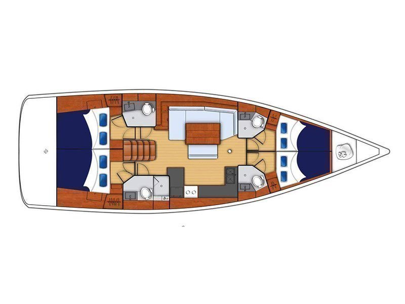 Moorings 48.4 () Plan image - 5