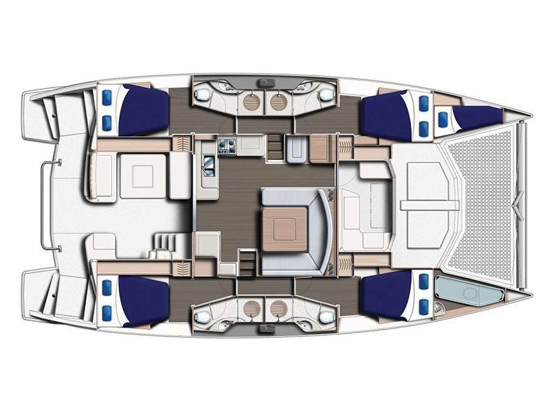 Moorings 4800 () Plan image - 4