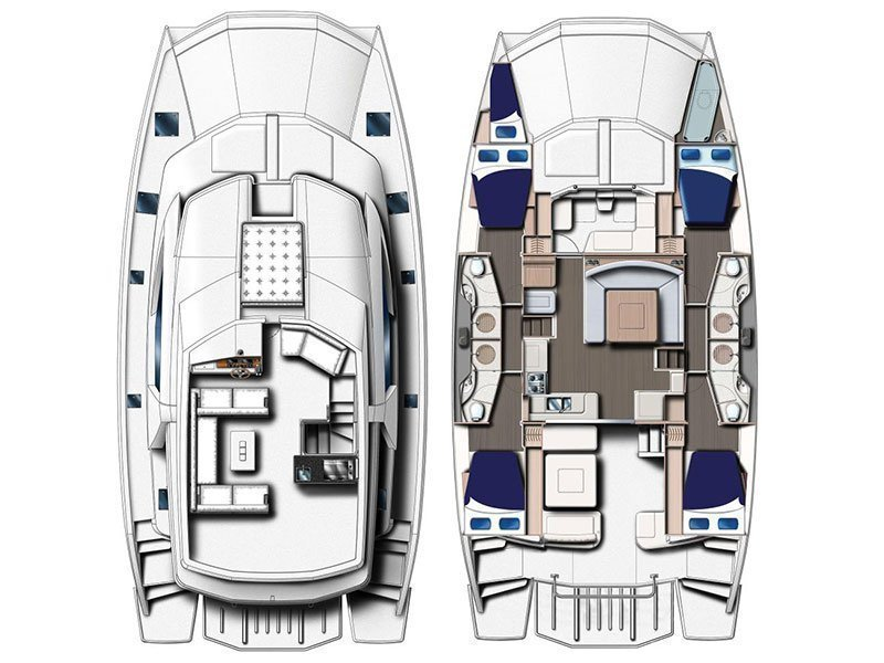 Moorings 514 PC  () Plan image - 1