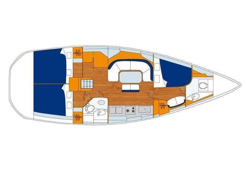 Sunsail 31 () Plan image - 6