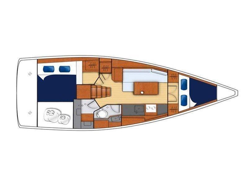 Moorings 352 () Plan image - 2