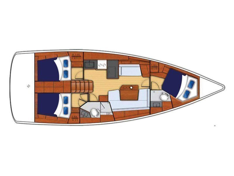 Moorings 42.1 () Plan image - 1
