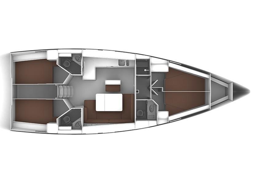 Bavaria Cruiser 46 (S/Y Orsalia) Plan image - 2