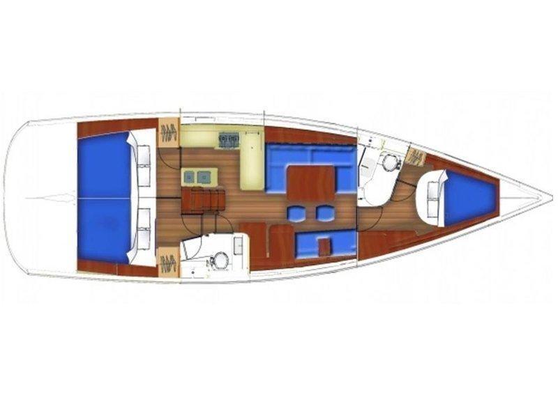 Oceanis 46 (Juliette) Plan image - 8