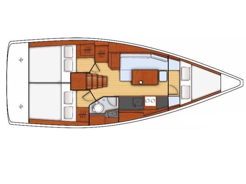 Oceanis 35 (Vendy) Plan image - 1