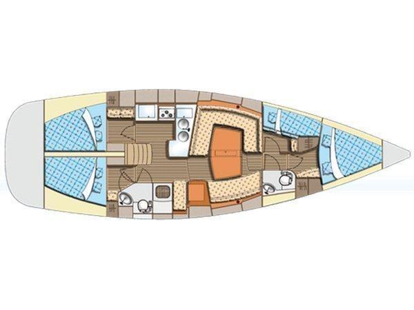 Elan 434 (Rebekka) Plan image - 10